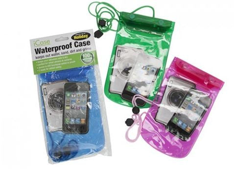 WATERPROOF CASE FOR  SMART PHONES/ CAMERA OR WALLET