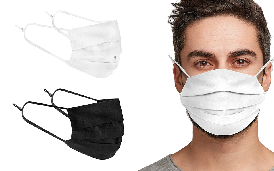 Up to 20 Reusable Cotton Face Masks