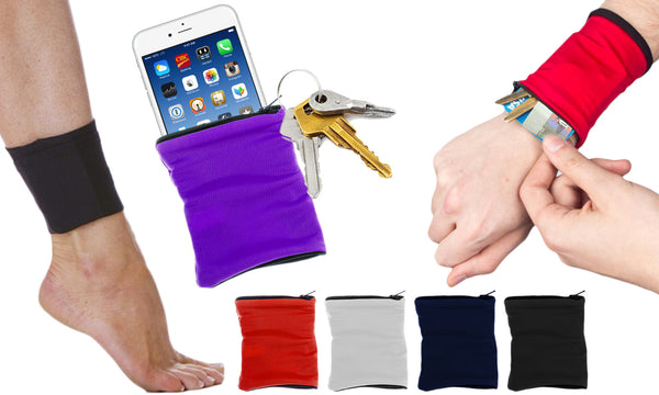 Fitness Wrist or Ankle Wallet