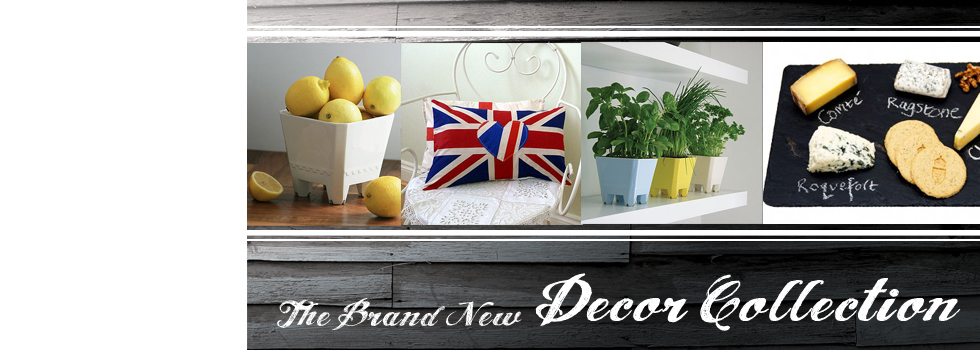 Our new interior Decor collection. Perfect products to add that homely 'finishing touch'