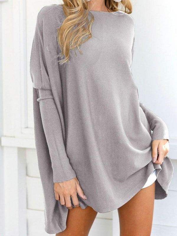 Regular Mid-Length Loose Sweater