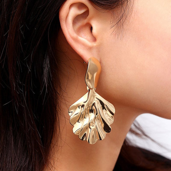 Plain E-Plating Alloy Party Earrings