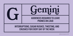 """Movie Ratings"" Astrology Stickers - Limited Edition"