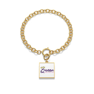 Queen Chunky Chain Bracelet