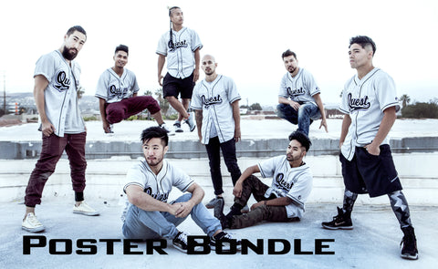 Quest Crew Poster Bundle