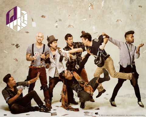 Quest Crew Poster - Flying Cards