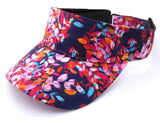 Bright Beach Visor Floral Kitta