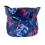 Bright Beach Visor Dark Purple Leaves