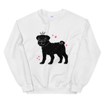 Pug Princess Sweatshirt