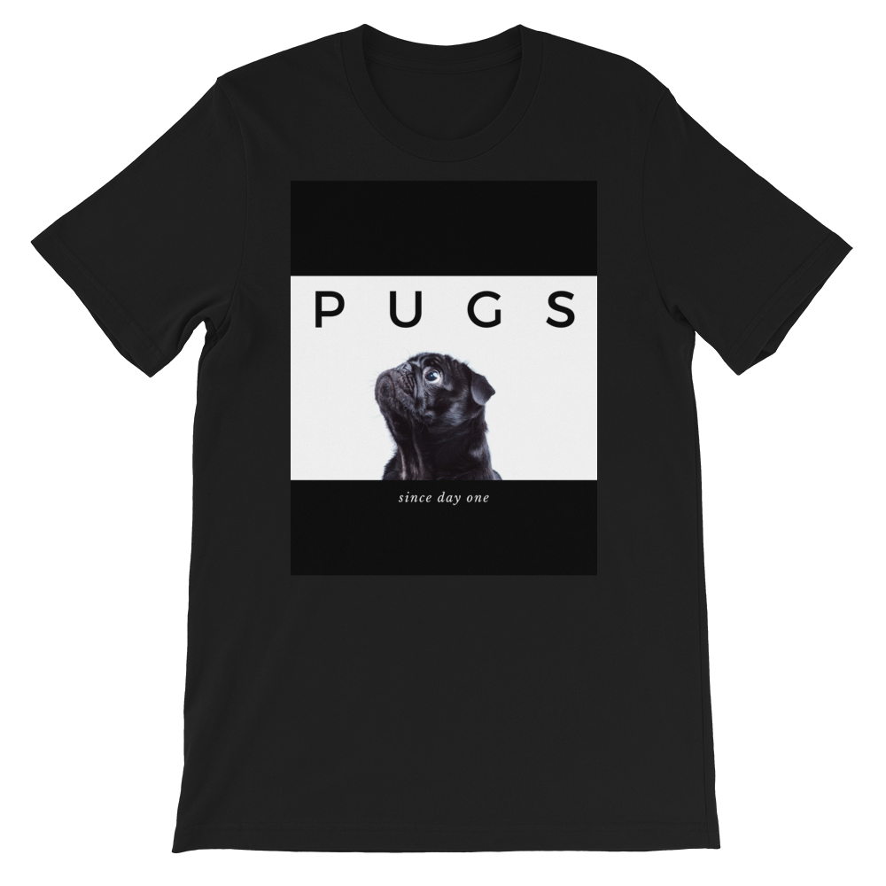Pugs Since Day One T-Shirt