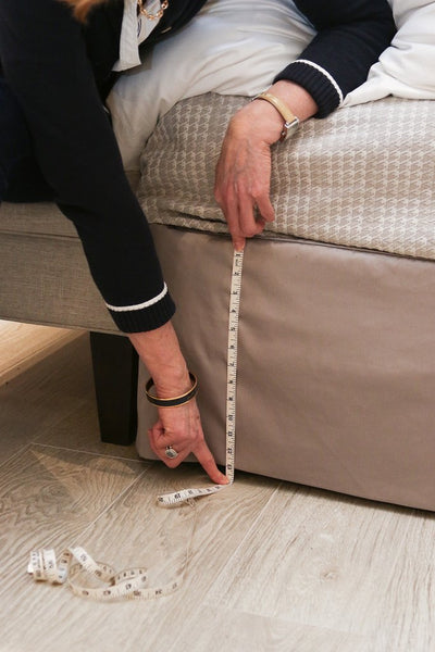 Au Lit - Measuring Bed Skirt Drop