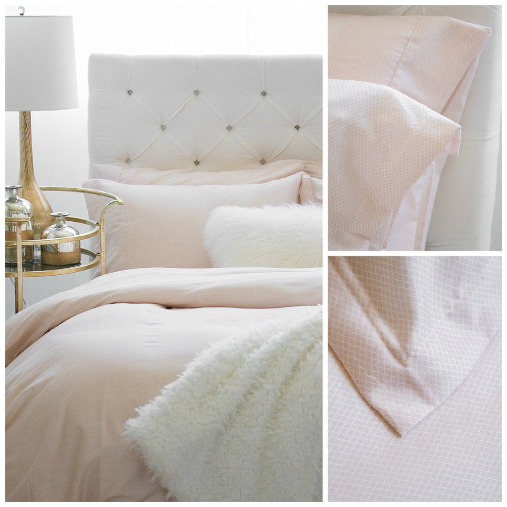 Au Lit Fine Linens - Tori Blush Collection
