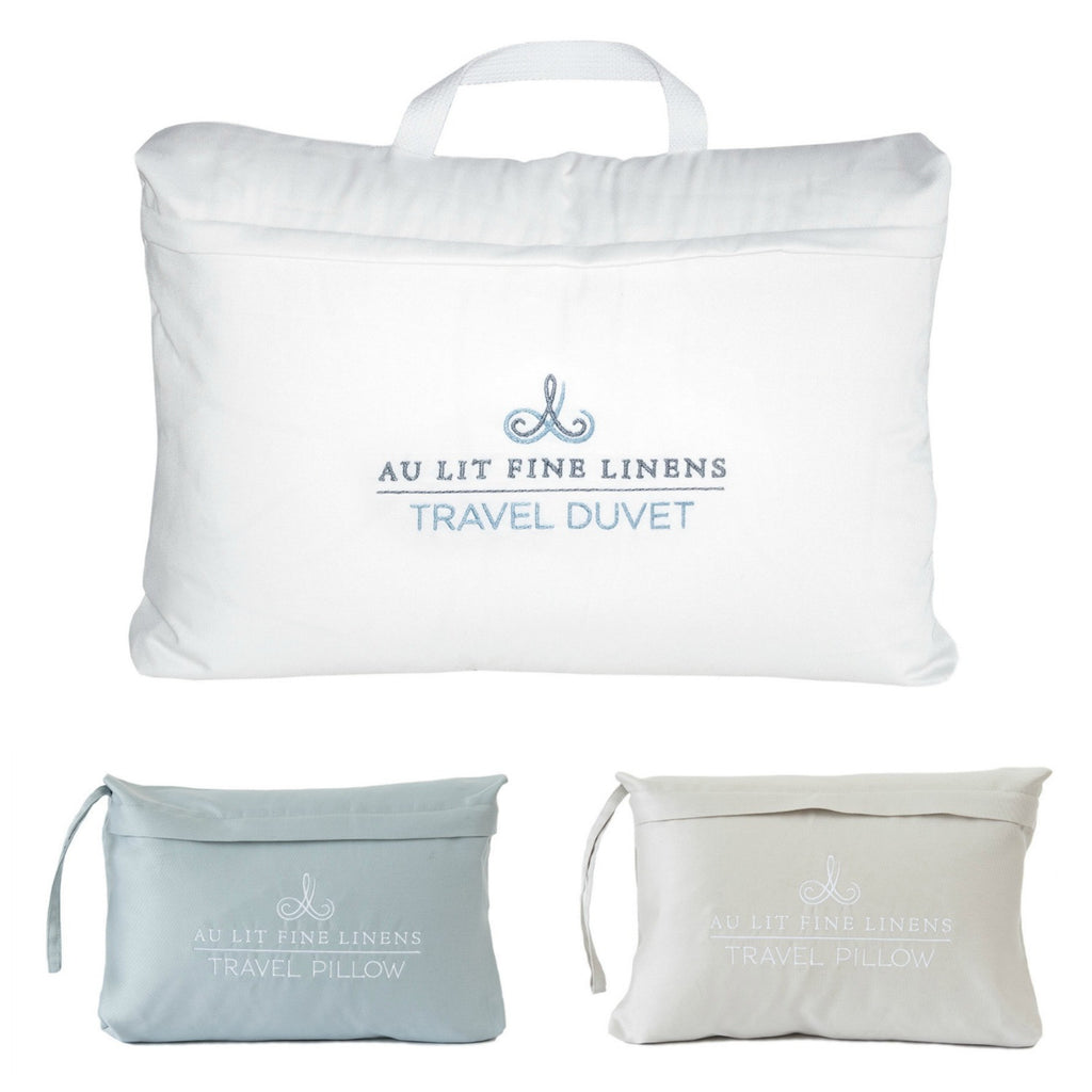 Au Lit Fine Linens Travel Pillows & Duvet