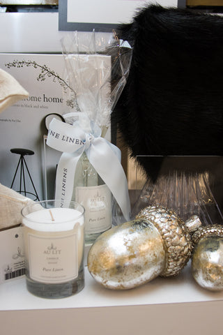 Au Lit Holiday Store Tour Candles & Bath Accessories