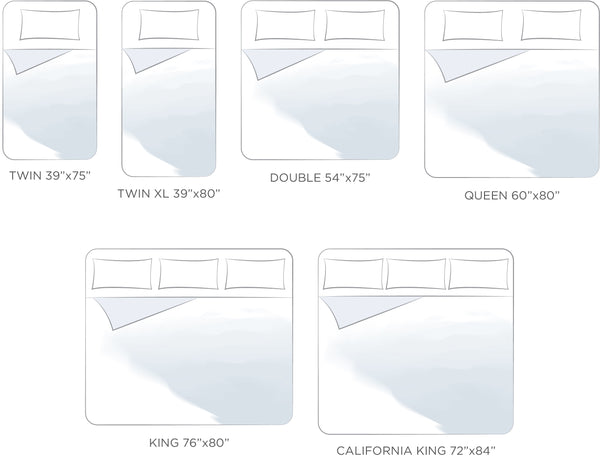 Duvet Sizes 101 Twin Double Queen King Beyond Au Lit Fine Linens