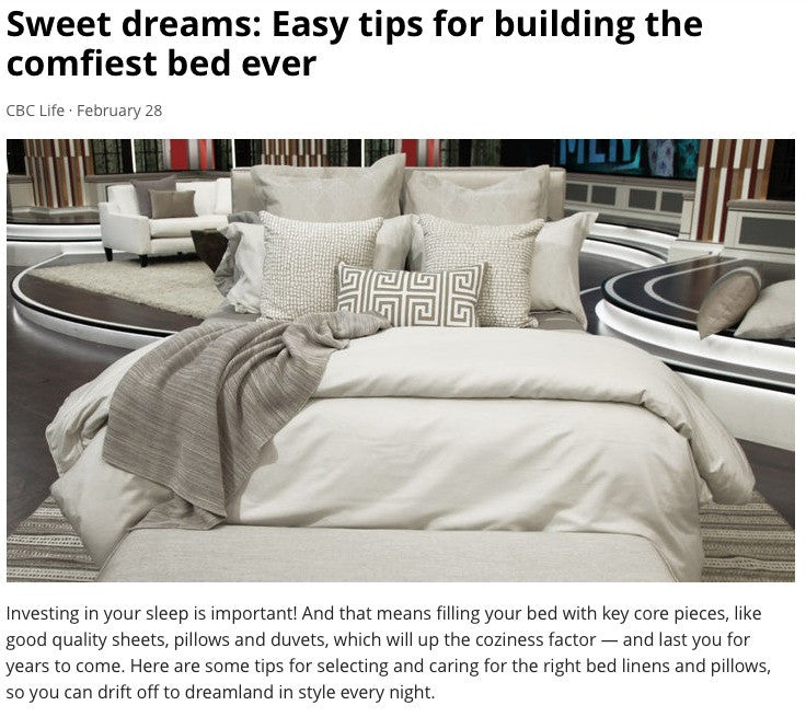CBC The Goods - Sweet Dreams: Easy Tips for Building the Comfiest Bed Ever