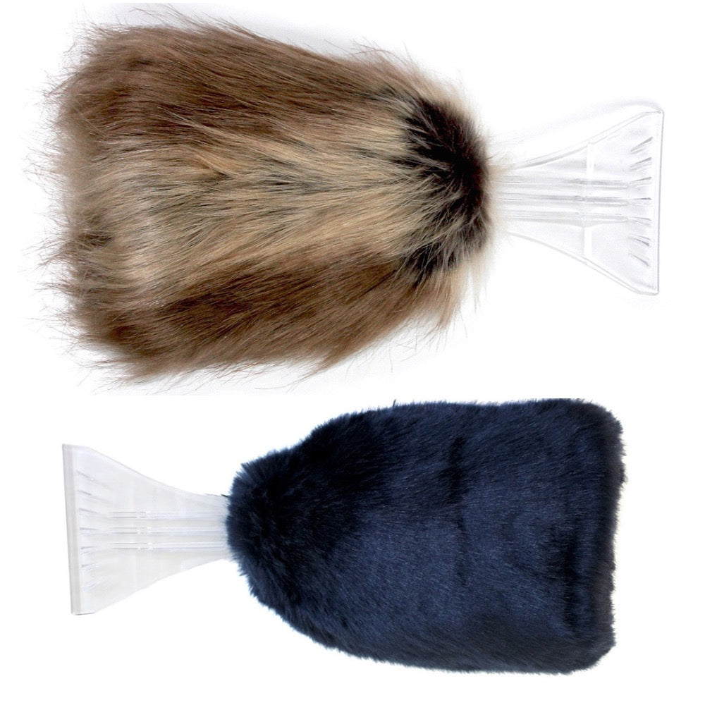 Faux Fur Ice Scraper