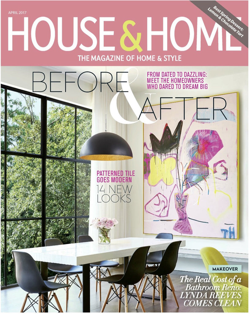 House & Home April 2017 - Cover