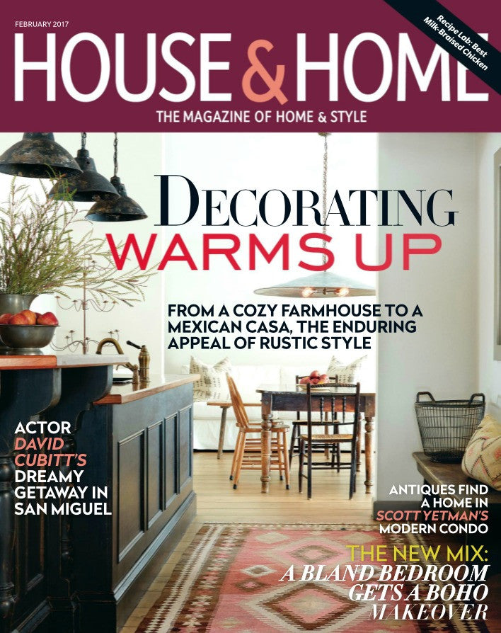 House & Home February 2017 Cover
