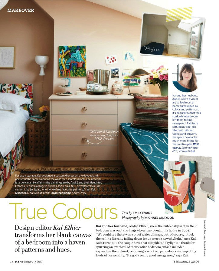 House & Home February 2017 Makeover: True Colours
