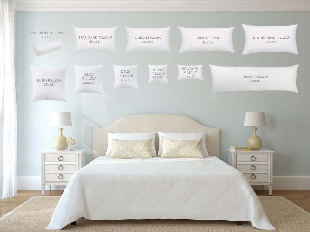 Au Lit Pillow & Duvet Diagram