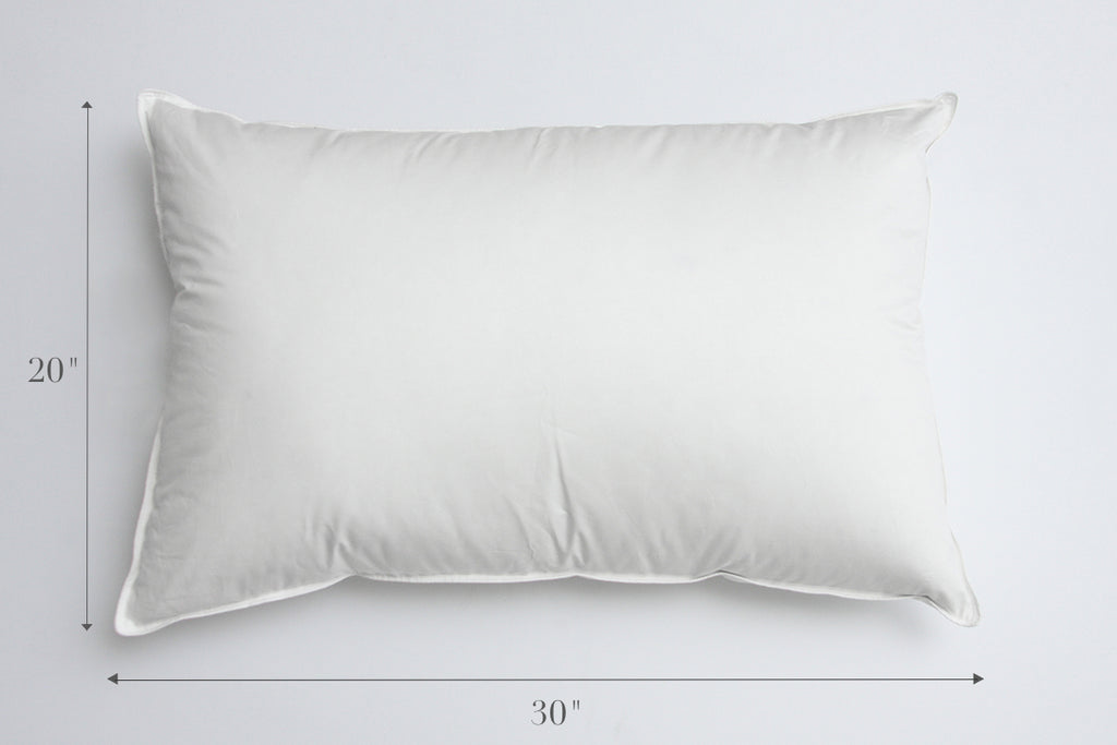 Perfect Pillow Sizes Standard Queen or King – Au Lit Fine Linens