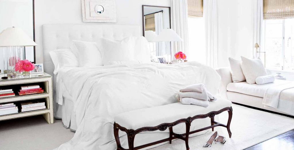Beautiful Beds All White Au Lit Fine Linens Interesting All White Bedroom Decorating Ideas