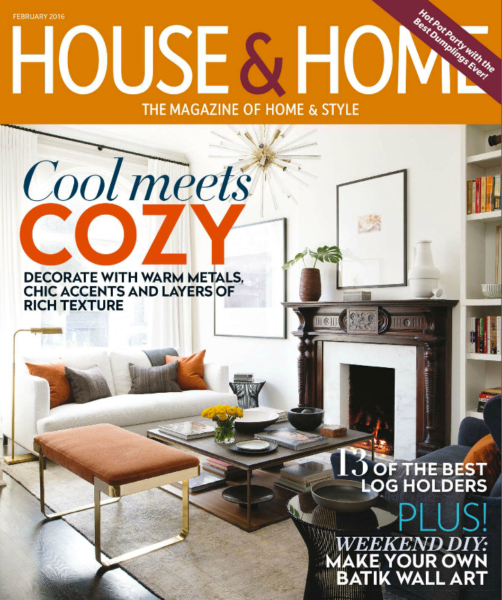 House & Home February 2016 - Cover Image