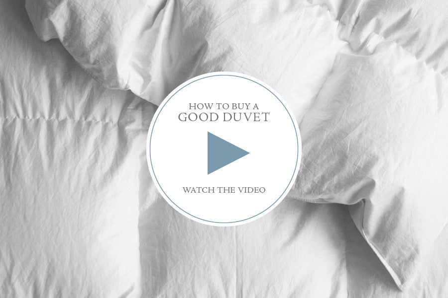 how to buy a good duvet