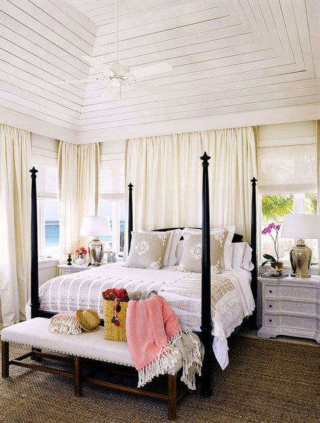 12 Stunning Bedroom Paint Ideas For Your Master Suite: Start Fresh: 12 Beautiful Bedroom Ideas For The Cottage