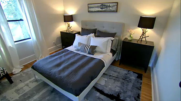 nightu0027s income property on hgtv you missed out on some great bedroom makeovers we were proud to supply the bedding for all three bedrooms - Income Property Hgtv