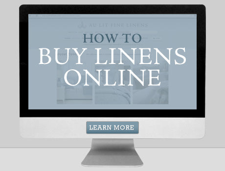 How To Buy Linens Online
