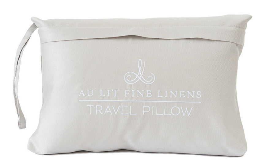 Au Lit 100% Goose Down Travel Pillow