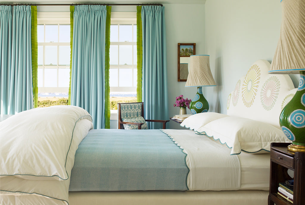 8 Bold And Unexpected Colour Pairings In The Bedroom Au Lit Fine Linens