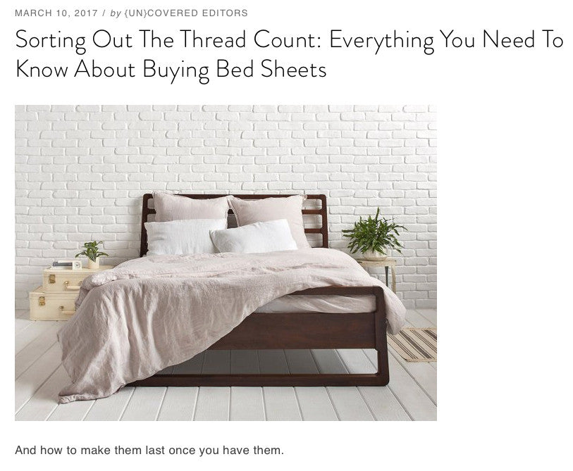 {un}covered - Sorting Out The Thread Count
