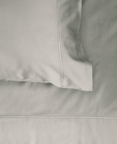 600 thread count cotton satin taupe