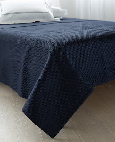 Alba Quilted Pool Navy