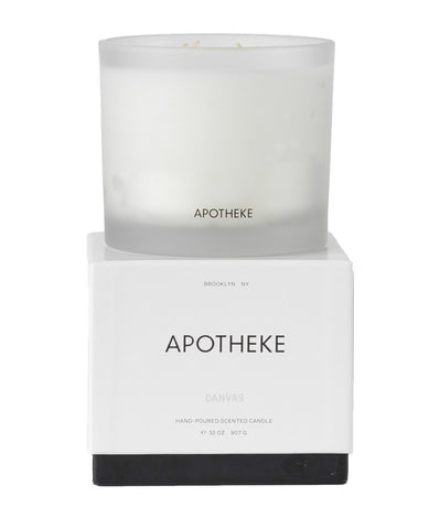 Apotheke 3-Wick Candle Canvas
