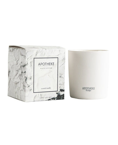 Apotheke White Vetiver Soul Candle