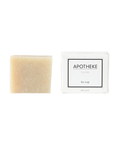 Apotheke Woods Bar Soap
