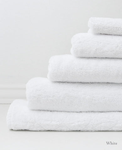 Au Lit Luxe Towels - White