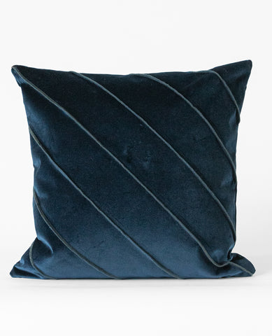 Briar Velvet Indigo Cushion