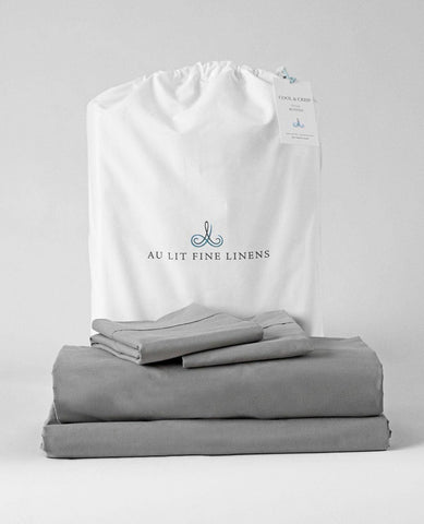 Cool & Crisp 200TC Percale Bundle Smoke