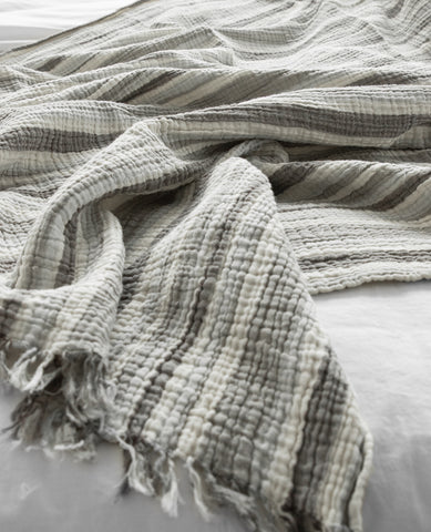 Dala Striped Turkish Throw 1