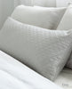Diamante Cushion Cover Grey & Silver