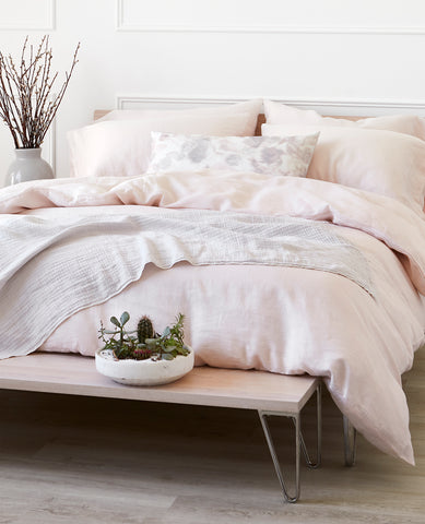 Easy Living Washed Linen Blush