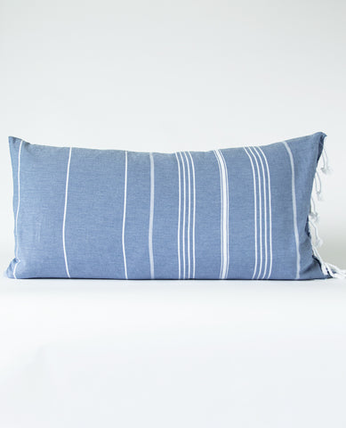 Fouta Pillow de la Mer Denim
