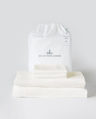 Soft & Cozy Flannel Bundle Ivory
