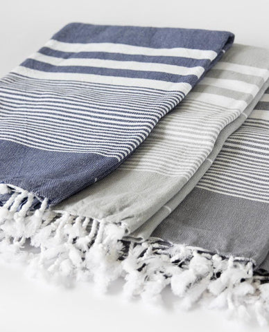 Izmir Striped Fouta Towel