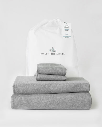 Soft & Comfy Cotton Jersey Bundle Grey